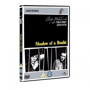 Alfred Hitchcock Shadow Of A Doubt DVD