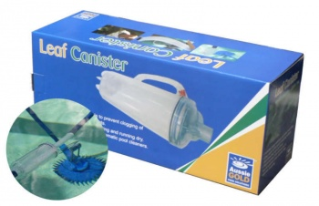 Swimming Pool Cleaner Leaf Canister Large Capacity, Aussie Gold