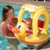 Learn-To-Swim Floating Duck Baby Seat