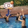 Swimsportz Poolside Basketball, Fun Adjustable Poolside Basketball Game