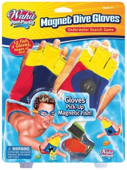 Wahu Magnetic Dive Gloves, Fun Diving Game