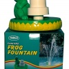 Floating Frog Fountain Triple Tier Head Grecian Style Fountain, Pool, Pond, Water Feature product image