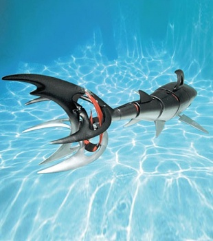 SwimWays RC Cyborg Shark