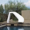 White Water Pool Water Slide, Blue or White