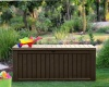 Keter Rockwood Outdoor Storage Box, Wood Look Storage Box