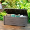 Keter Brightwood Storage Box, 445 litres Wood Style product image