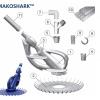 Onga Mako Shark Vacuum Seal 18inch, Mako Pool Cleaner Skirt product image