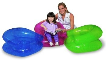 Bestway Transparent Child's Chair, inflatable Chair 30' x 30'