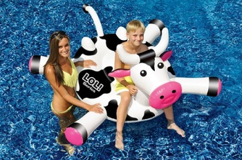 LOL Crazy Cow Pool Float
