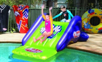 Wahu Pool Slide, Summer 2014 Graphics
